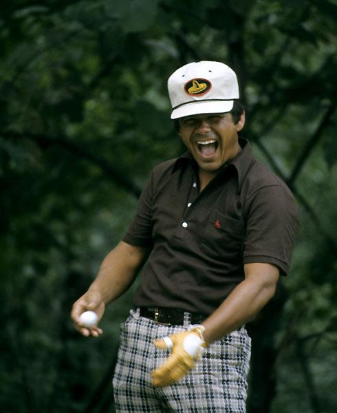 "Lee Trevino: ""Super Mex,"" Trevino will tell you, was just a character he created while winning six majors between 1968 and 1984. ""I'm actually a very quiet person off the golf course. I very seldom open my mouth."" He'd have a hard time convincing his many fans, who lapped up his folksy aphorisms (""Pressure is playing for $10 when you don't have a dime in your pocket"") and lightning-avoidance tips (""Hold up a 1-iron; not even God can hit a 1-iron""). Says Fuzzy Zoeller, ""Lee's got more lines than the Illinois Railroad."""