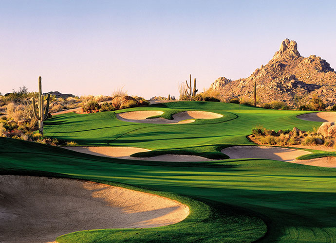 Troon North Golf Club (Pinnacle) Scottsdale, Ariz.; Tom Weiskopf/Jay Morrish (1991) -- $39-$259, troonnorthgolf.com