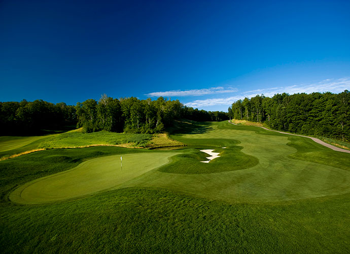 Best Reason to Join a Michigan Private Club                       Northern Michigan offers a smorgasbord of top public tracks, but because the region's location in the upper Great Lakes makes for an abbreviated golf season, prime tee times can be hard to come by. If you've got the coin for a private club, check out True North, a spirited, hilly and very playable Jim Engh design that wends through a veritable nature preserve of woods and wetlands in Harbor Springs. Short though the playing season may be, it's hard to beat the area's temperate summer climate, long daylight hours and enviable location near Little Traverse Bay. And if you're a fan of excellent practice facilities, empty tee sheets, and wild turkeys roaming the grounds, make a trek to True North.