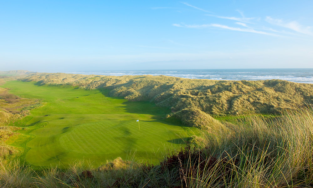 Trump International Golf Links Scotland, which has its public debut this week, is billed by its owner as the 'World's greatest golf course.' But don't take the Donald's word for it. Take our course tour of Trump's latest supercourse -- for all the hyperbole, Trump Scotland might turn out to be as good as advertised. (Pictured: Hole No. 1)