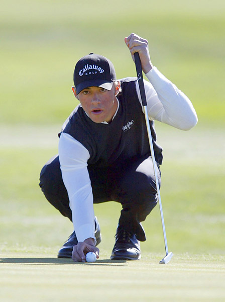 Callaway signs Ty Tryon                       Tiger Woods led other companies to search for the next young golf star. In 2001, Callaway signed 17-year-old Ty Tryon to a multi-year, multi-million-dollar endorsement deal, but his career never panned out.