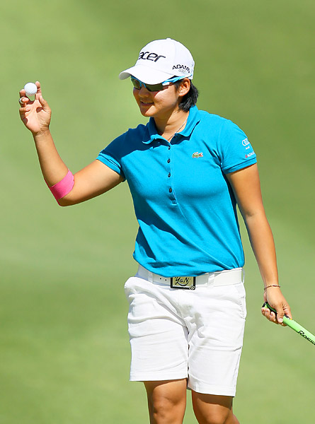Tseng has won three of the five LPGA events she has played in 2012.