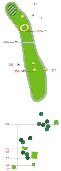 Hole 10 - Dinna Fouter                       Par 4, 456 yards