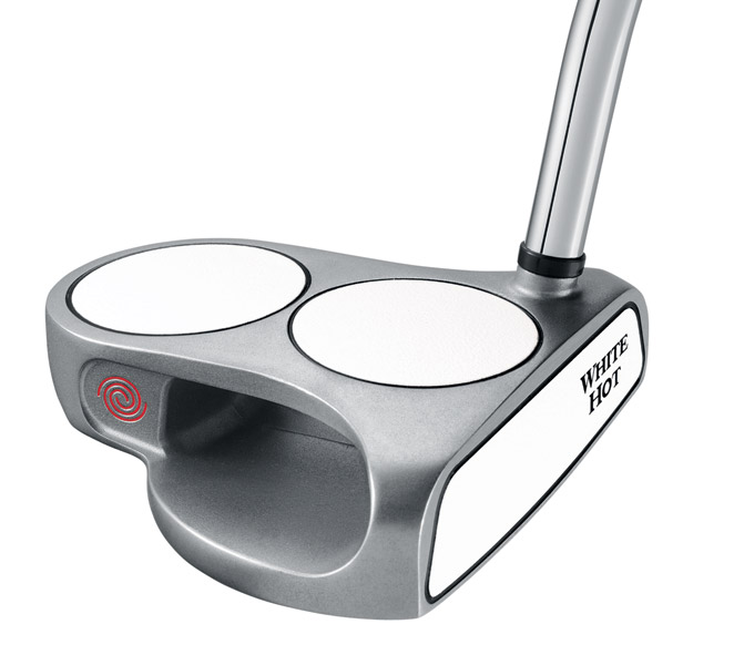 Odyssey 2-Ball Putter                       Originally ruled nonconforming by the USGA, the quirky 2-Ball went through 34 iterations before a conforming model debuted in 2002. The putter has been used to win at least 15 majors, including 10 by Annika Sorenstam.
