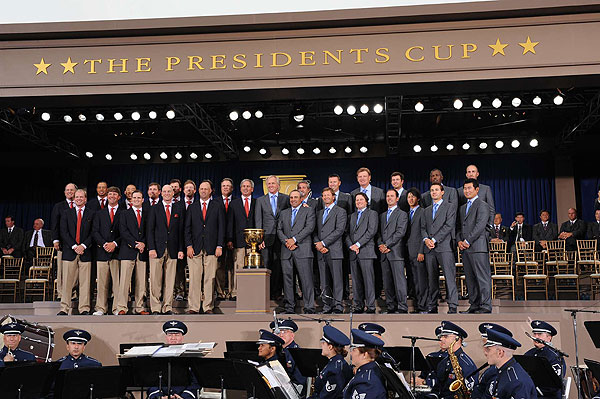 The Presidents Cup kicks off on Thursday.