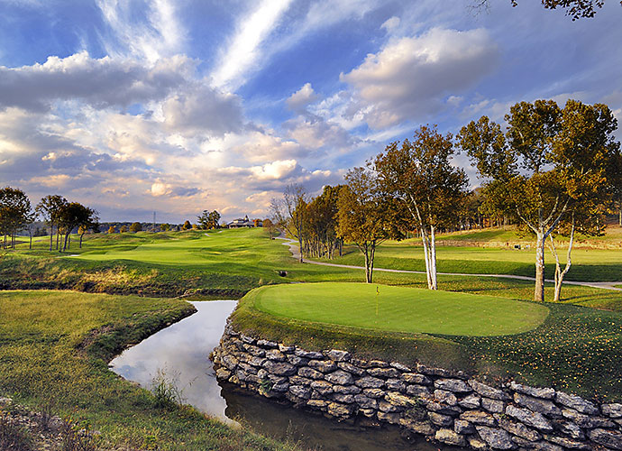 9. Valhalla Golf Club, Louisville, Ky.: Sure, we remember Valhalla for the 2008 Ryder Cup, with Boo Weekley horsing around and the 2000 PGA Championship, where Tiger Woods outdueled Bob May, but what also jumps out are the strategic options sprinkled throughout, notably at two terrific risk/reward par-5s, the 7th and the 18th and at the short par-4 13th, with its unique, elevated, stacked rock green.