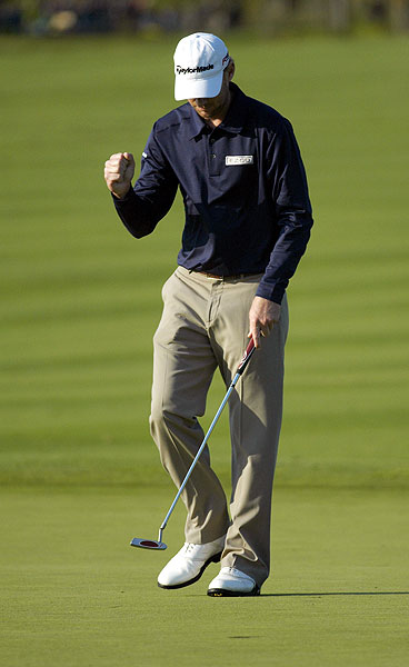 is also in the playoff, finishing at 17 under par.