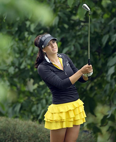 Verchenova at the 2010 Evian Masters.