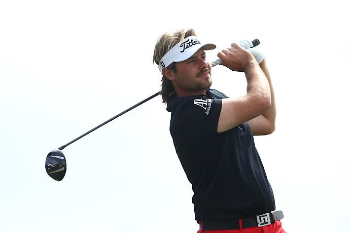 """I realized I was in the semifinal of the World Golf Championship against Ernie Els.""                             --Victor Dubuisson on why he didn't sleep well on Saturday night. Dubuisson won his semifinal match against Els 1-up."