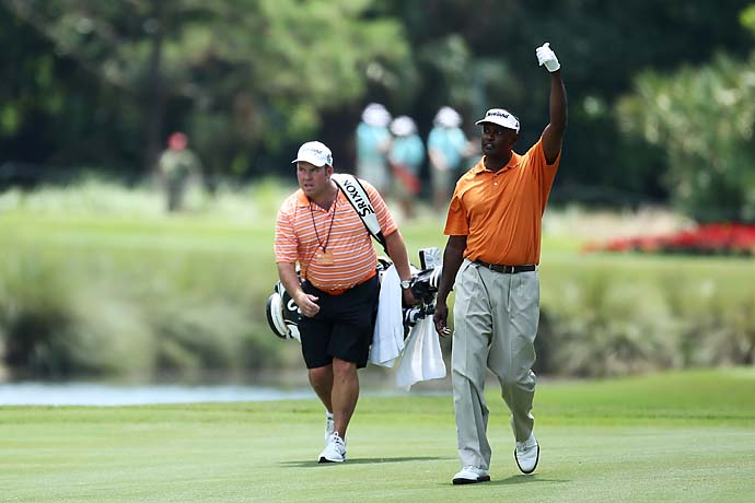 """I'm perfectly fine.""                           --Vijay Singh declining to talk with a reporter after missing the cut at the Players Championship. Singh has sued the PGA Tour for violating his rights when the PGA Tour tried to suspend him for Singh's alleged use of a banned substance."