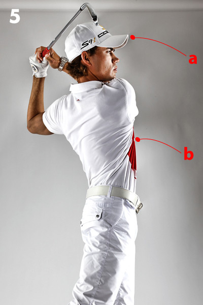 Finish In Balance                       Getting this right means everything that came before it is solid                                              When you watch a Tour event you'll notice two things: PGA Tour pros never make full-speed practice swings, and they always hold their practice-swing finish for a count or two. I've been doing this for years because I know if I can finish in balance to the point where I can hold my end position for a few seconds, then I've made a good swing. Finishing in the same place and in balance like this is the ultimate key to consistency and repeatability, because you can only get there one way: with a good swing. On the other hand, you can finish off balance by making a hundred different backswing and downswing errors.                                              The next time you play, make practice swings with the sole intent of finishing in balance, then step up and repeat that swing when you hit the ball for real, even if it means you have to swing a little slower. You'll be amazed by your results.