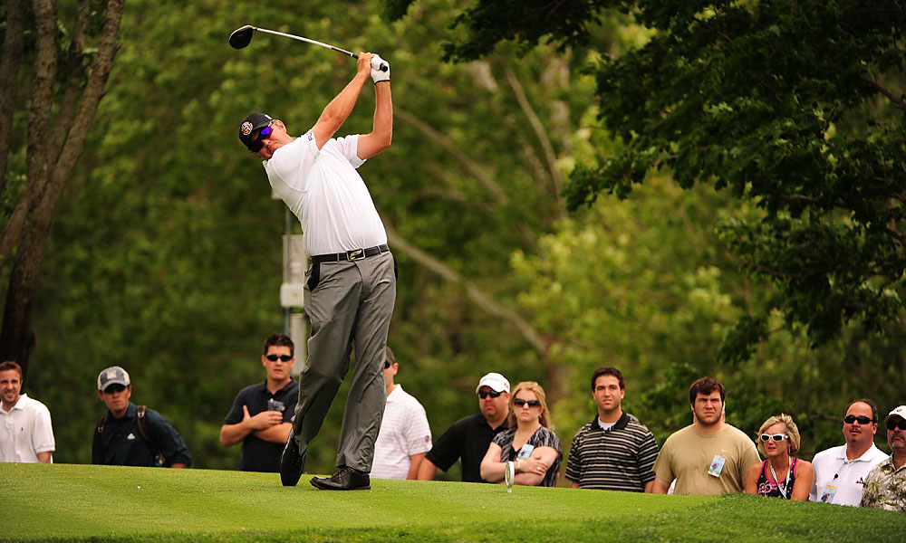 Van Pelt also tied for third at The 2010 Memorial Tournament.