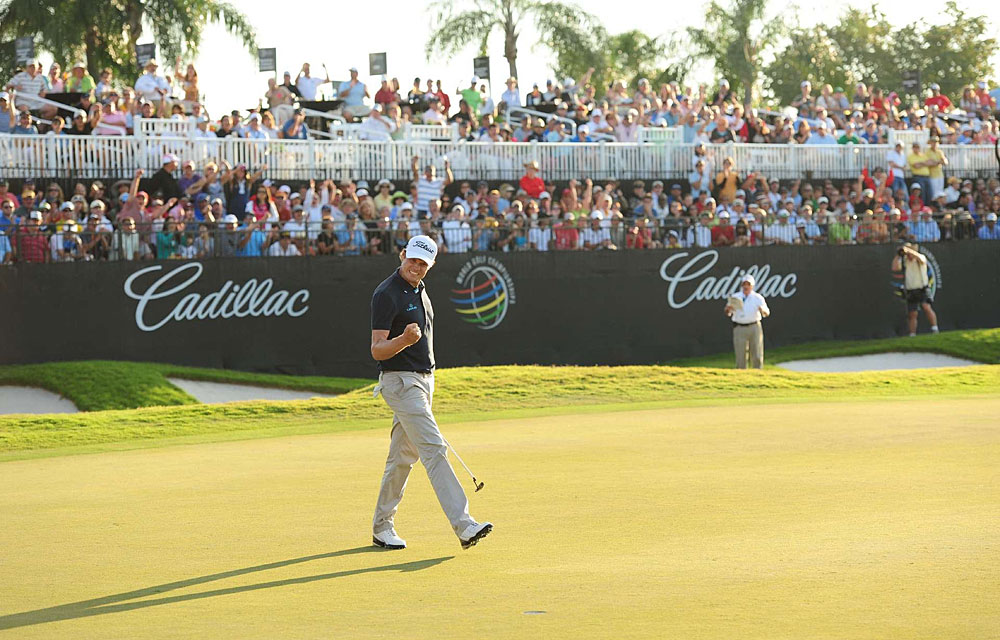 Nick Watney                           How He Got to Kapalua: Won the WGC-Cadillac Championship and AT&T National