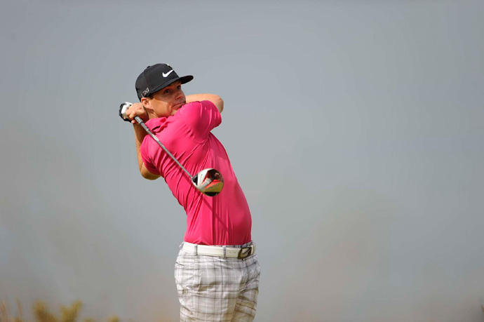 Nick Watney made three bogeys and a double bogey on the back nine for a 74.