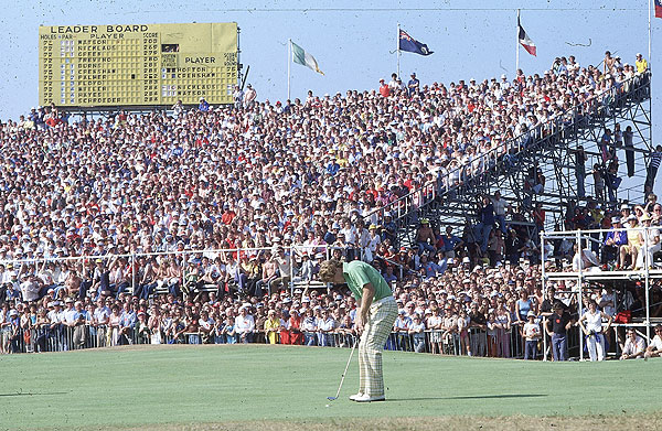 This week Tom Watson got an exemption into the next five British Opens. Here's a look back at one of his more memorable Open wins: the 1977 British Open when he beat Jack Nicklaus in the Duel in the Sun.