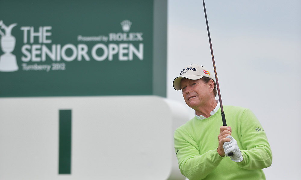 On Thursday, Tom Watson opened with a one-under 69.