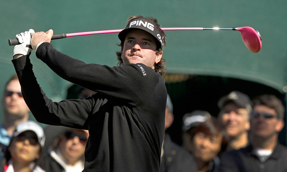 Bubba Watson also finished with a 71 in the first round.