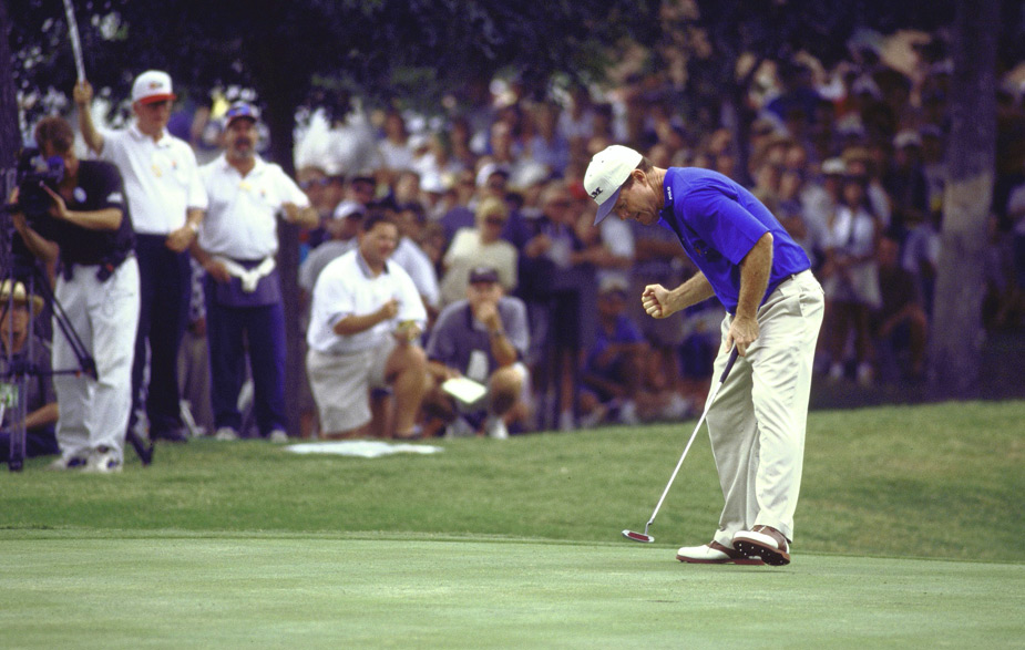Watson's last PGA Tour win came at age 48, when he won the 1998 Colonial. In his career, Watson tallied 39 wins between 1974 and 1998.