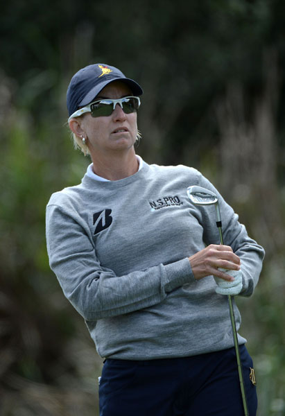 Karrie Webb, 39, is a two-time U.S. Women's Open champion, winning in 2000 and 2001.