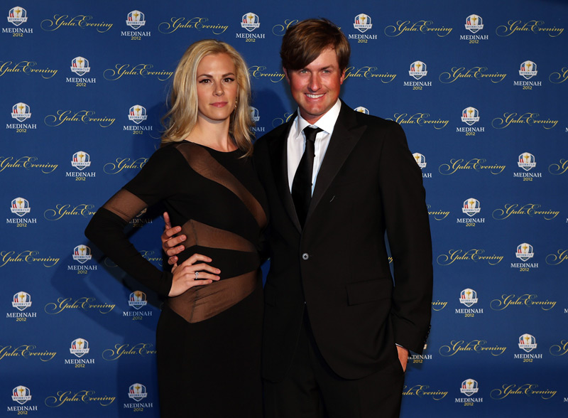 Webb Simpson and his wife, Dowd.
