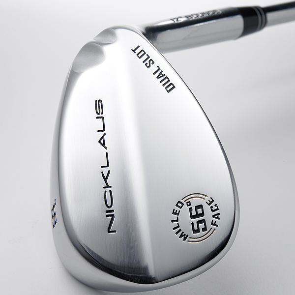 """Nicklaus Dual Slot                       $79; nicklausgolf.com                       • Go to Equipment Finder profile to tell us what you think and see what other GOLF.com readers said about this club.                                              We tested: 52°/8° (loft/bounce), 56°/12°, 58°/11°, 60°/10° in steel shaft                       Company line: """"The dual-slot heel-relief design provides more versatility and control in short-game situations. Club has an ultra-flat CNC-milled face for extra spin.""""                       Our Test Panel says: Yields predictable results; the two slots act like a fin on a surfboard, helping the wedge track through sand without diving or fluttering; unremarkable, vanilla styling; not the crispest feel for a wedge, but not harsh, either.                                              Delivers a variety of trajectories as needed. — Jim Hurley"""