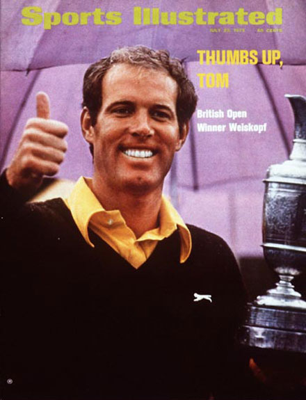 Tom Weiskopf wins the 1973 British Open at Royal Troon.