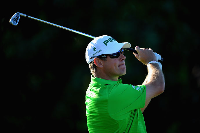 """I honestly don't watch that much golf on TV.  More likely to walk and see me watching football or NFL or basketball or horse racing.""                       --Lee Westwood on whether he's been watching Rory McIlroy's play the last couple months."