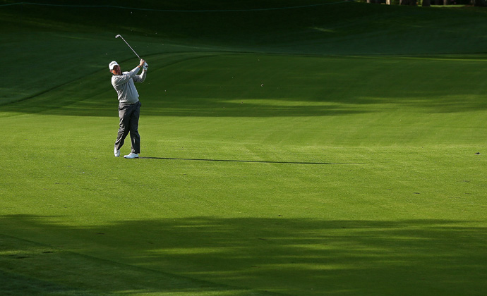 Lee Westwood is also three back after a 68.