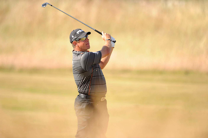Lee Westwood shot a three-under 68 to finish one off the lead.