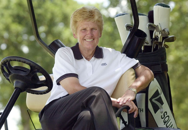 4. Kathy Whitworth                       Whitworth played from 1959 to 1985 and won 88 LPGA events, the most of any golfer on any tour and a record that still stands. She also won six majors.