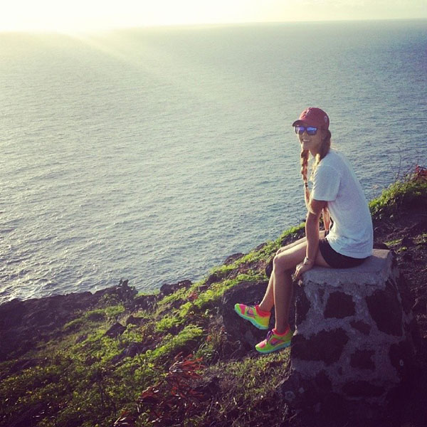 @themichellewie: Taking it all in...#makapuu