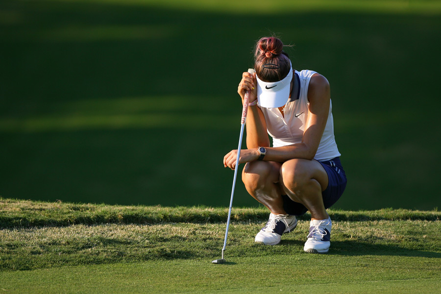 Michelle Wie missed the cut for ninth time this season.