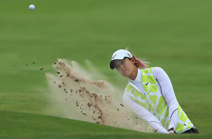 Michelle Wie shot a 79 in the final round to tie for 13th.