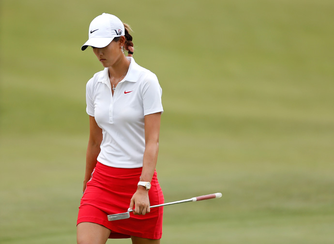 Wie was the target of criticism again at the 2013 U.S. Women's Open when she withdrew before completing the final hole of the fog-delayed second round. Wie, who at the time was +11, cited an illness as the reason for her early exit.