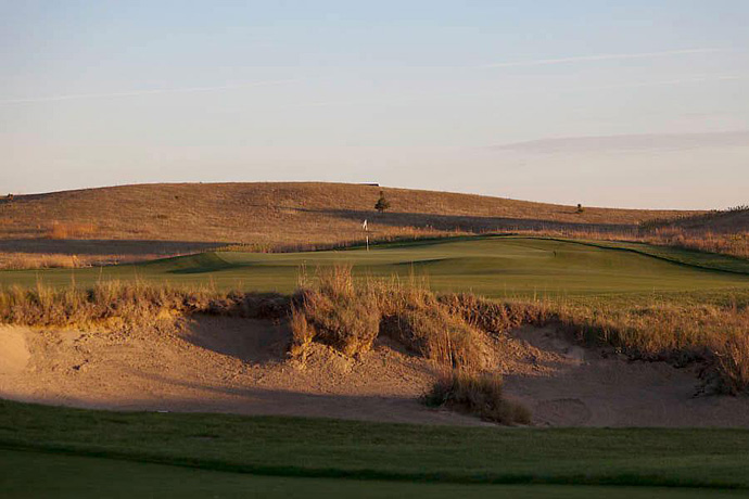 Wild Horse -- Gothenburg, Neb.                       Go a long way from nowhere, then head a little farther, and you come to this lonely layout, which romps across the plains like an unsaddled steed. Designed by Dave Axeland and Dan Proctor (an unheralded pair better known as the guys who built the bunkers at Sand Hills), Wild Horse is nearly as wide as it is long, and as much fun as any course you'll ever play.