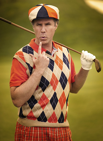Frank the Tank. Ron Burgundy. Ricky Bobby. Will Ferrell is famous for creating big-screen icons. In Golf Magazine's No. 1 Issue, he became the icon.                           Our favorite bogey golfer recreated his three favorite moments in golf history, inspired by timeless images snapped by Sports Illustrated. Ferrell,                           43, joined award-winning celebrity photographer Sam Jones at Trump National Golf Club in Los Angeles, where the box-office star became Arnold                           Palmer, Phil Mickelson and Jack Nicklaus. Let's find out Who's No. 1. And...action!