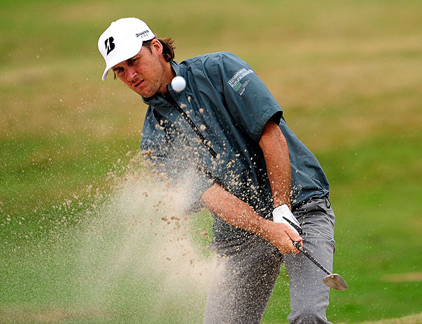made only one bogey, here on 16, in his opening, five-under 67.