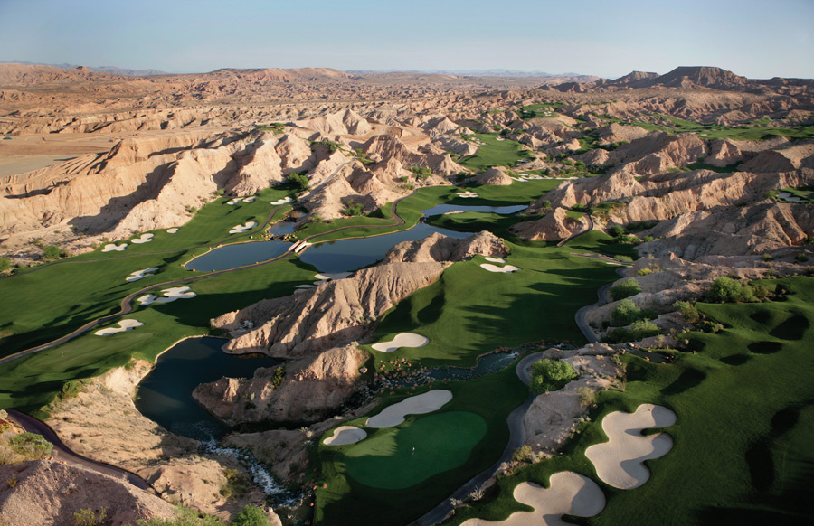65. Wolf Creek Golf Club                        Mesquite, Nev. -- $125-$195, golfwolfcreek.com
