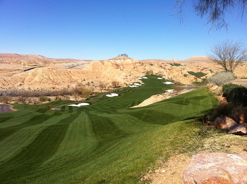 Wolf Creek Golf Club -- Mesquite, Nev.                           Submitted by Ryan Roberts
