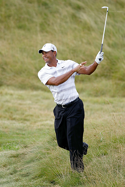 Woods went straight to Whistling Straits from his disastrous performance at the Bridgestone Invitational on Sunday, and he has been working hard on his game all week.