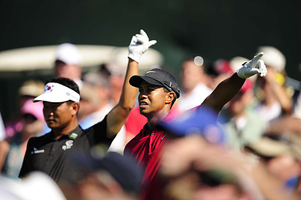 Woods and Choi were in synch all week. They both finished the tournament at -11.