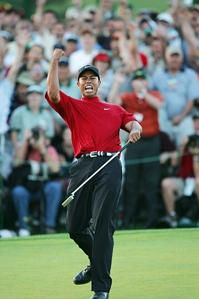 Woods defeated Chris DiMarco in a playoff.