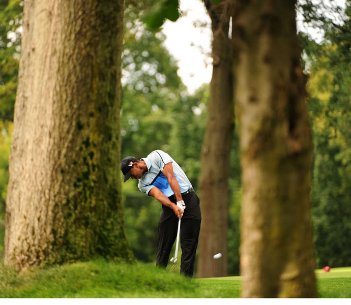 Woods is looking to win his 15th major -- and first in five years -- this week.