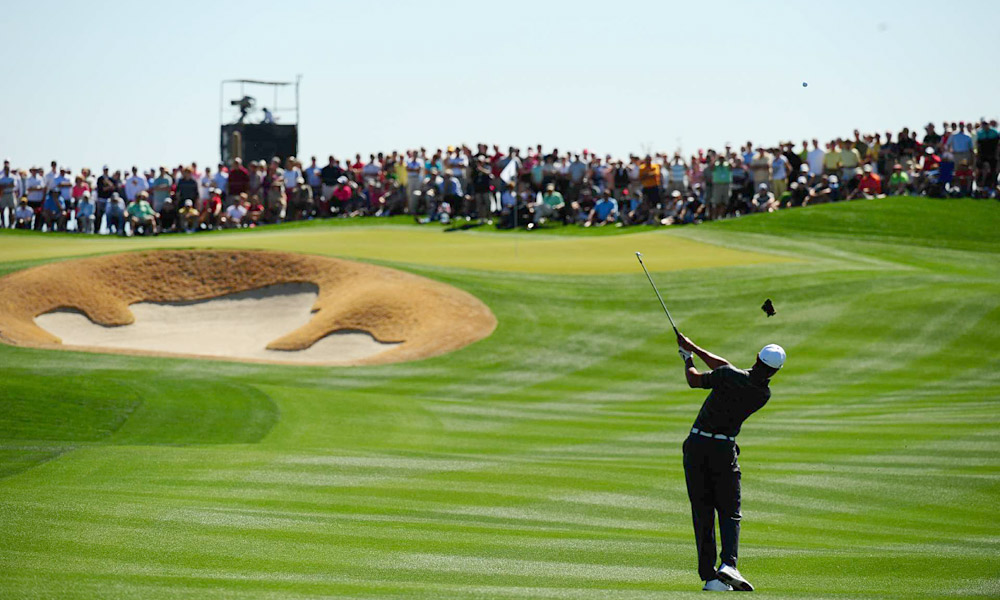 Tiger Woods lost to Nick Watney 1 down in the second round of the WGC-Accenture Match Play Championship.