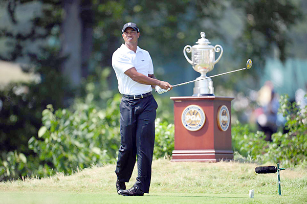 Woods finished T24 at the 2004 PGA Championship at Whistling Straits.