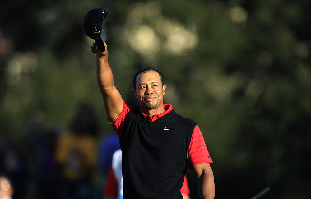 """People don't realize how hard it is to win golf tournaments,"" Woods said. ""I've gone on streaks where I've won golf tournaments in a row, but still ... I don't think I've taken it for granted. And I know because of how hard it is.''"