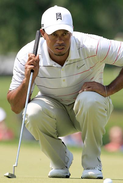 Woods is looking for his eighth WGC-Bridgestone title this week.