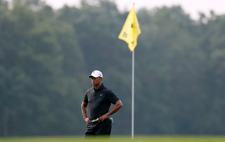 The Barclays is the first event of the FedEx Cup playoffs. Woods sits in first place thanks to three victories on Tour this year.