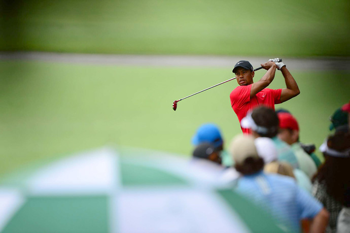 """I certainly had a chance,"" Woods said. ""If I would have posted a number today, I was right there."""