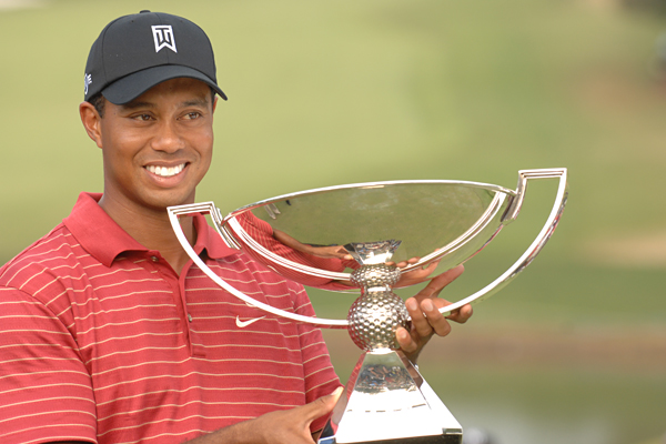 Woods won the season-long FedEx Cup points race and a cool $10 million for his retirement account. He won another $1.26 million for his Tour Championship title and clinched the top spot on the money list.